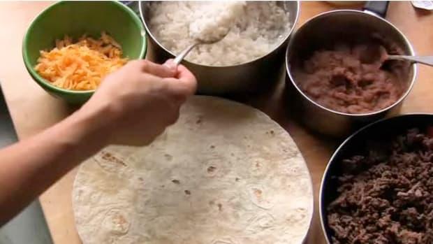 A. How to Make a Burrito Promo Image