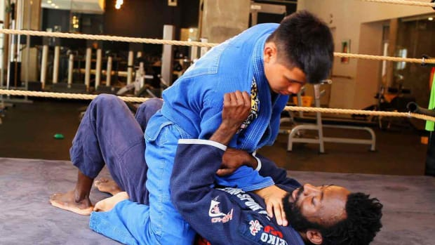 X. How to Escape from a Mount Position in Brazilian Jiu Jitsu Promo Image