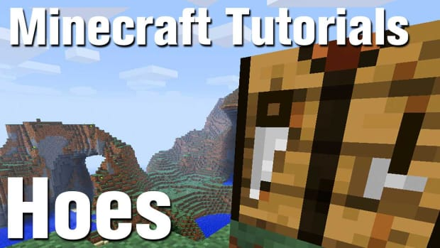 ZJ. Minecraft Tutorial: How to Make a Hoe in Minecraft Promo Image