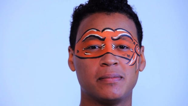 ZC. How to Paint a Ninja Turtle Mask with Face Paint Promo Image