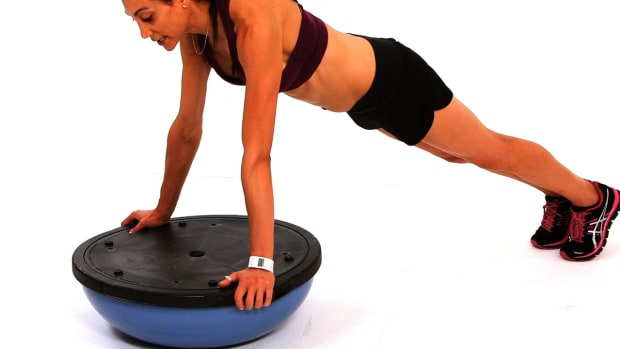 ZI. How to Do a Platform Push-Up with a Bosu Ball Promo Image