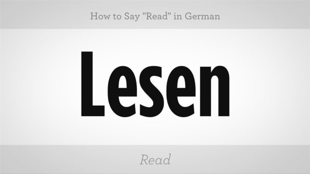 "ZY. How to Say ""Read"" in German Promo Image"