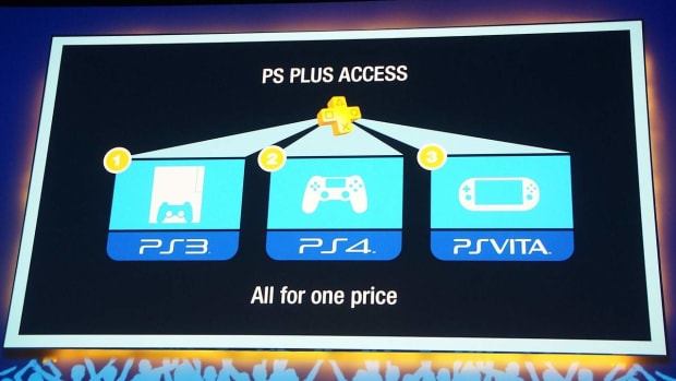 W. Benefits of PlayStation Plus Promo Image