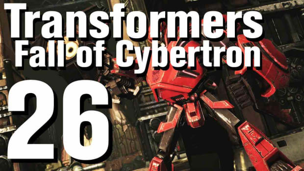 Z. Transformers Fall of Cybertron Walkthrough Part 26 - Chapter 10 Promo Image