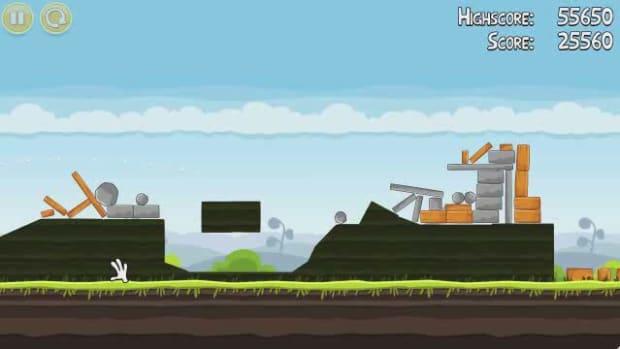 J. Angry Birds Level 4-10 Walkthrough Promo Image