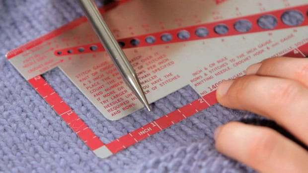 ZN. How to Measure Gauge in Knitting Promo Image