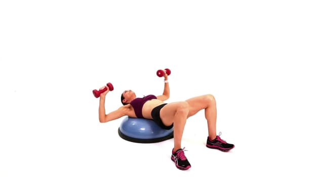 ZL. How to Do a Chest Press & Fly with a Bosu Ball Promo Image