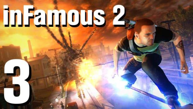C. inFamous 2 Walkthrough Part 3: Forward Momentum Promo Image