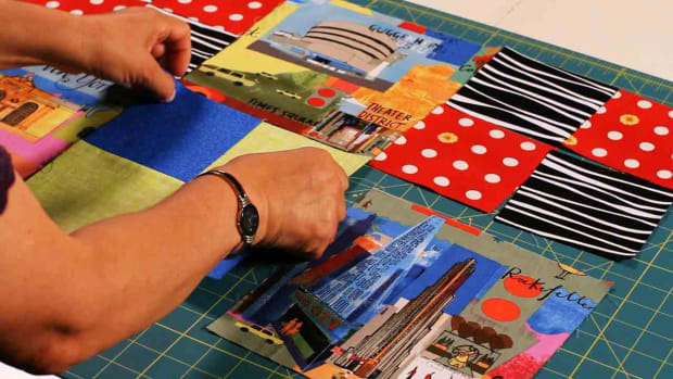O. How to Piece a Quilt Promo Image