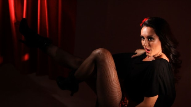 E. How to Do a Burlesque Chair Dance Promo Image