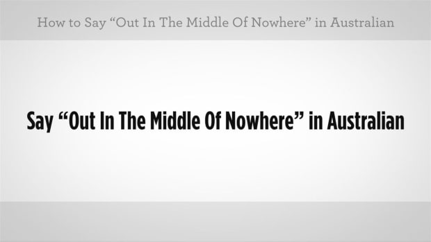 "ZM. How to Say ""Middle of Nowhere"" in Australian Slang Promo Image"