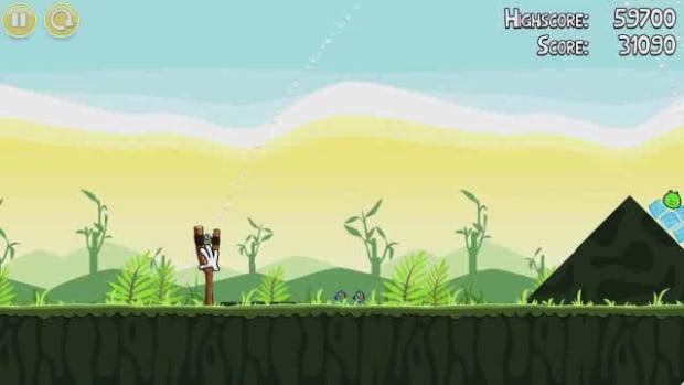 B. Angry Birds Level 2-2 Walkthrough Promo Image