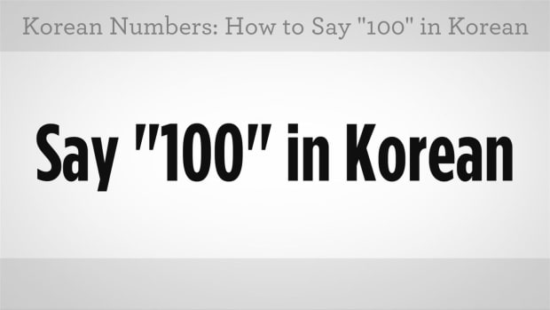 "ZZP. How to Say ""100"" & Count Up in Hundreds in Korean Promo Image"