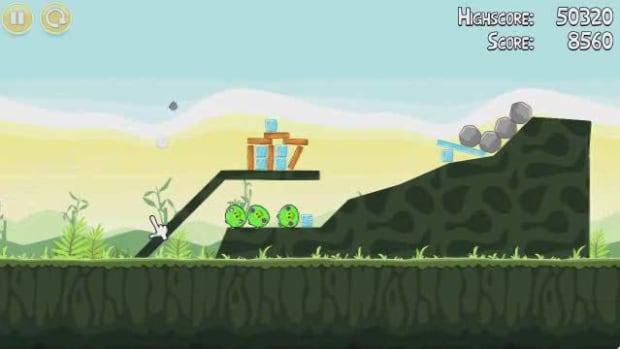 D. Angry Birds Level 2-4 Walkthrough Promo Image