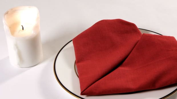 Z. How to Fold a Napkin into a Heart Promo Image