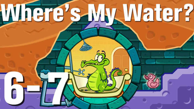ZZZZC. Where's My Water Walkthrough Level 6-7 Promo Image