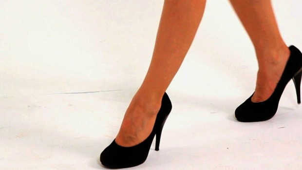 D. How to Walk in High-Heeled Pumps Promo Image
