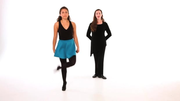 O. How to Do a Turn in Irish Step Dancing Promo Image