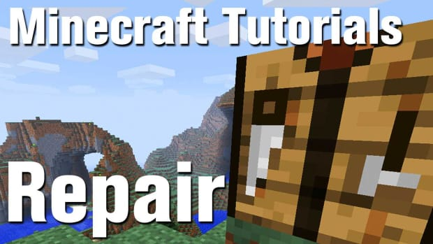 ZQ. Minecraft Tutorial: How to repair tools in Minecraft Promo Image