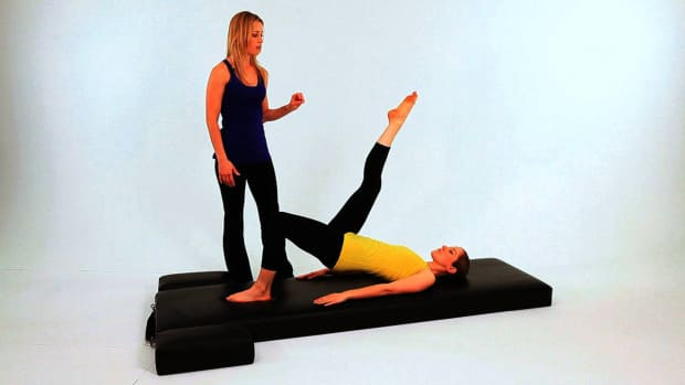 ZO. How to Do the Shoulder Bridge in Pilates Promo Image
