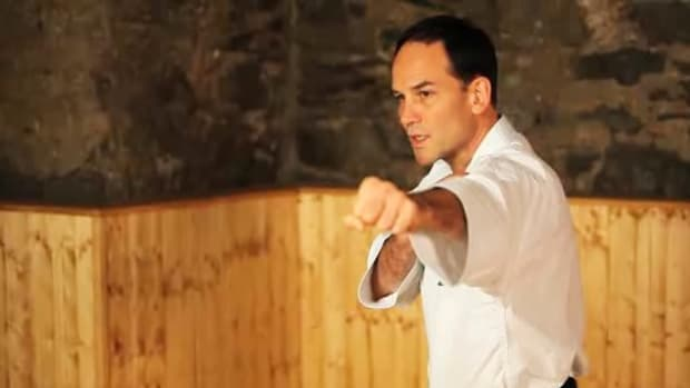 J. How to Do a Lunge Punch in Karate Promo Image