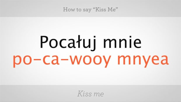 "ZU. How to Say ""Kiss Me"" in Polish Promo Image"