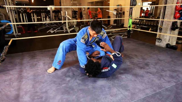 ZK. How to Defend against Knee on Stomach in Brazilian Jiu Jitsu Promo Image