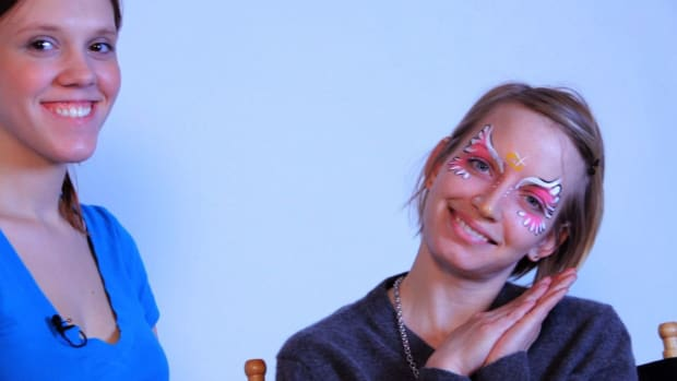 ZK. How to Paint an Angel with Face Paint Promo Image