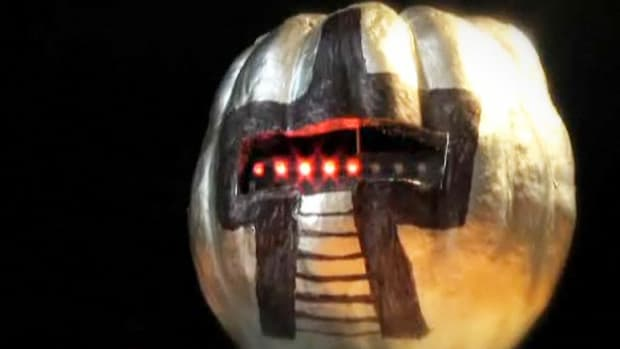 B. How to Carve a Cylon Pumpkin Promo Image