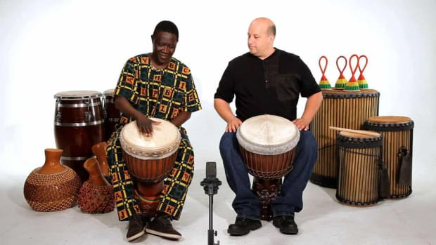 E. How to Play a Bass Sound on Djembe Promo Image
