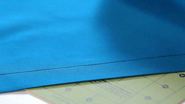 W. How to Make a Double-Fold Hem with a Sewing Machine Promo Image