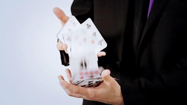 L. How to Do a Card Cascade Card Flourish Promo Image