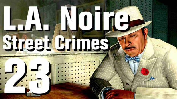 "W. L.A. Noire Walkthrough Street Crimes 23: ""Thicker Than Water"" Promo Image"