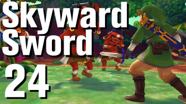 X. Zelda: Skyward Sword Walkthrough Part 24 - Skyview Temple Promo Image