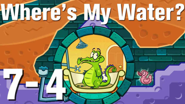 ZZZZT. Where's My Water Walkthrough Level 7-4 Promo Image