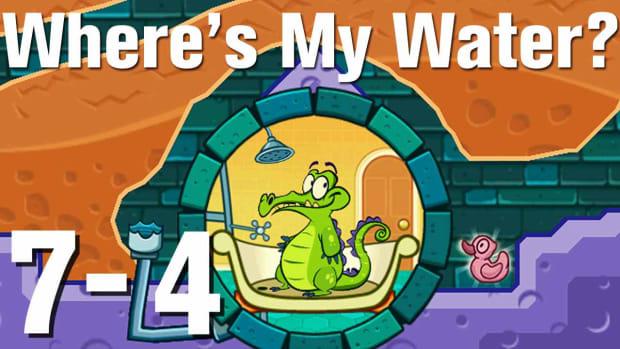 ZZZZT. Where's My Water Walkthrough Level 7-4 Promo Image