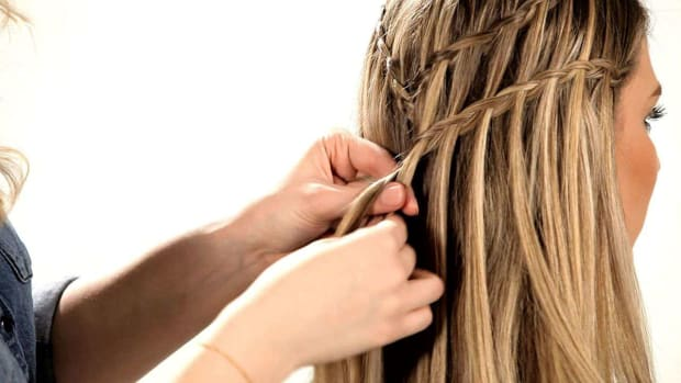B. How to Do a Double Waterfall Braid Promo Image