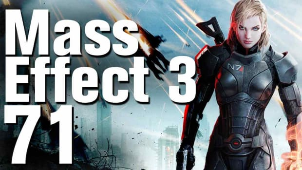 ZZS. Mass Effect 3 Walkthrough Part 71 - Thessia - Asari Temple Promo Image