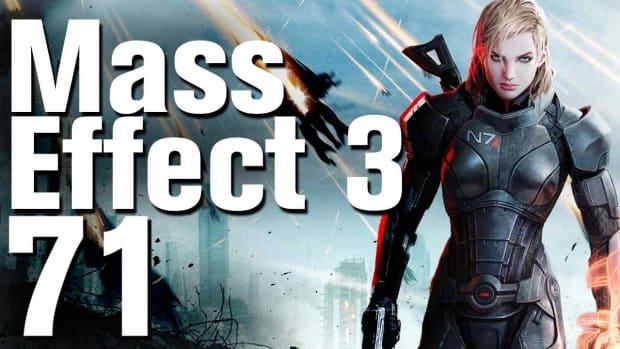 ZZS. Mass Effect 3 Walkthrough Part 71 - Thessia - Asari Temple Promo Image