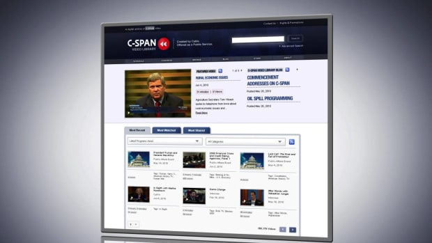 ZZA. How to Create, Share & Embed a Video Clip w/ the C-SPAN Video Library Promo Image