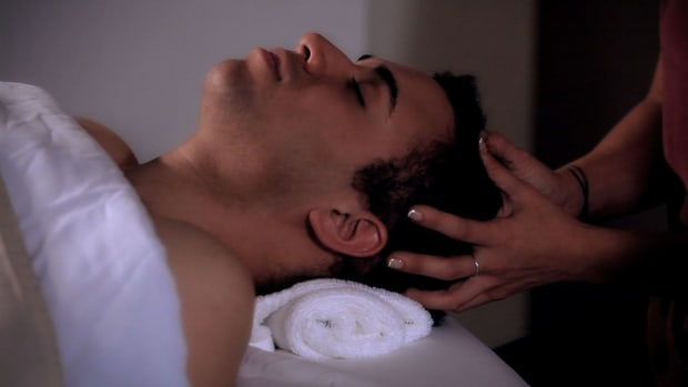 C. How to Apply Pressure during a Head Massage Promo Image
