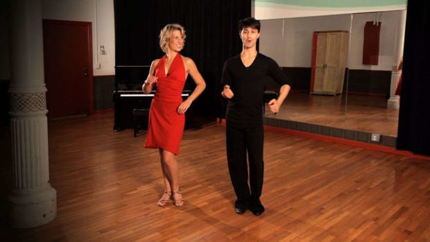 ZJ. How to Do a Mambo Forward & Back Basic Step Promo Image
