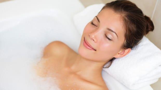S. Can a Warm Bath Help You Sleep? Promo Image