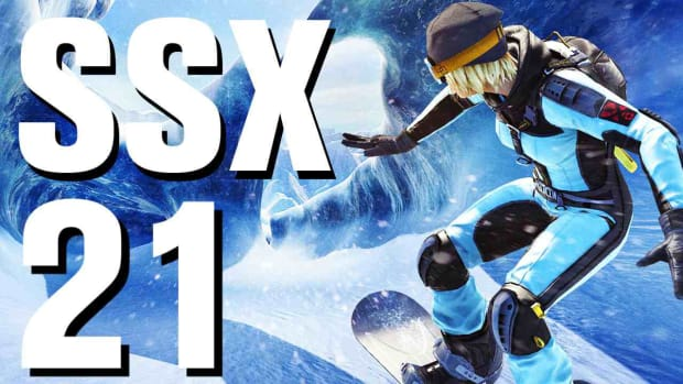 U. SSX Walkthrough Part 21 Antarctica - Evil Genius - Moby Promo Image