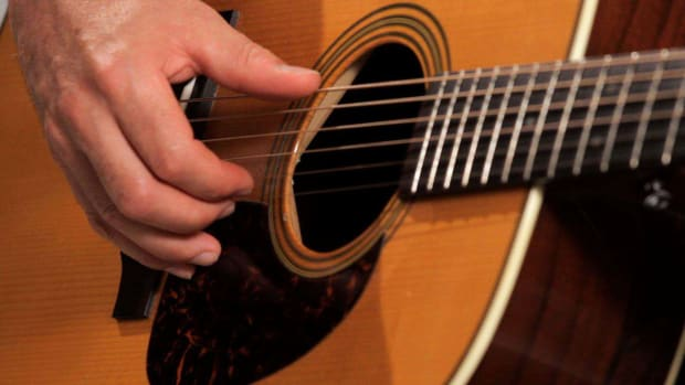 H. How to Play Basic Fingerpicking Style Country Guitar Promo Image