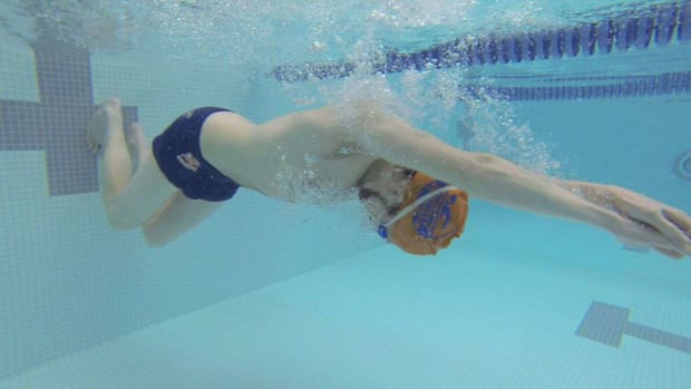 T. How to Turn & Push Off Wall with Breaststroke Promo Image