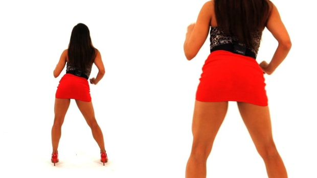 W. How to Do a Bachata Body Roll & Booty Roll for Women Promo Image