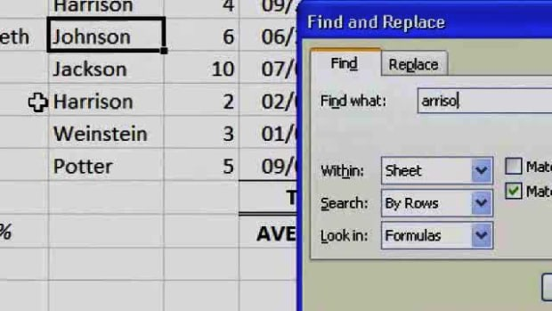 R. What Is the Find Tool in Excel? Promo Image