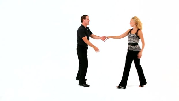 Y. How to Do the West Coast Turning Basic in Swing Dance Promo Image