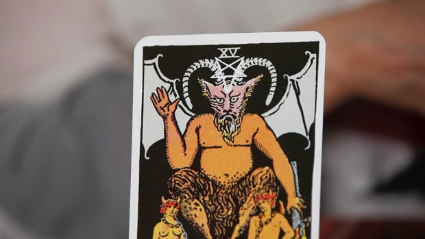 ZF. How to Read the Devil Tarot Card Promo Image